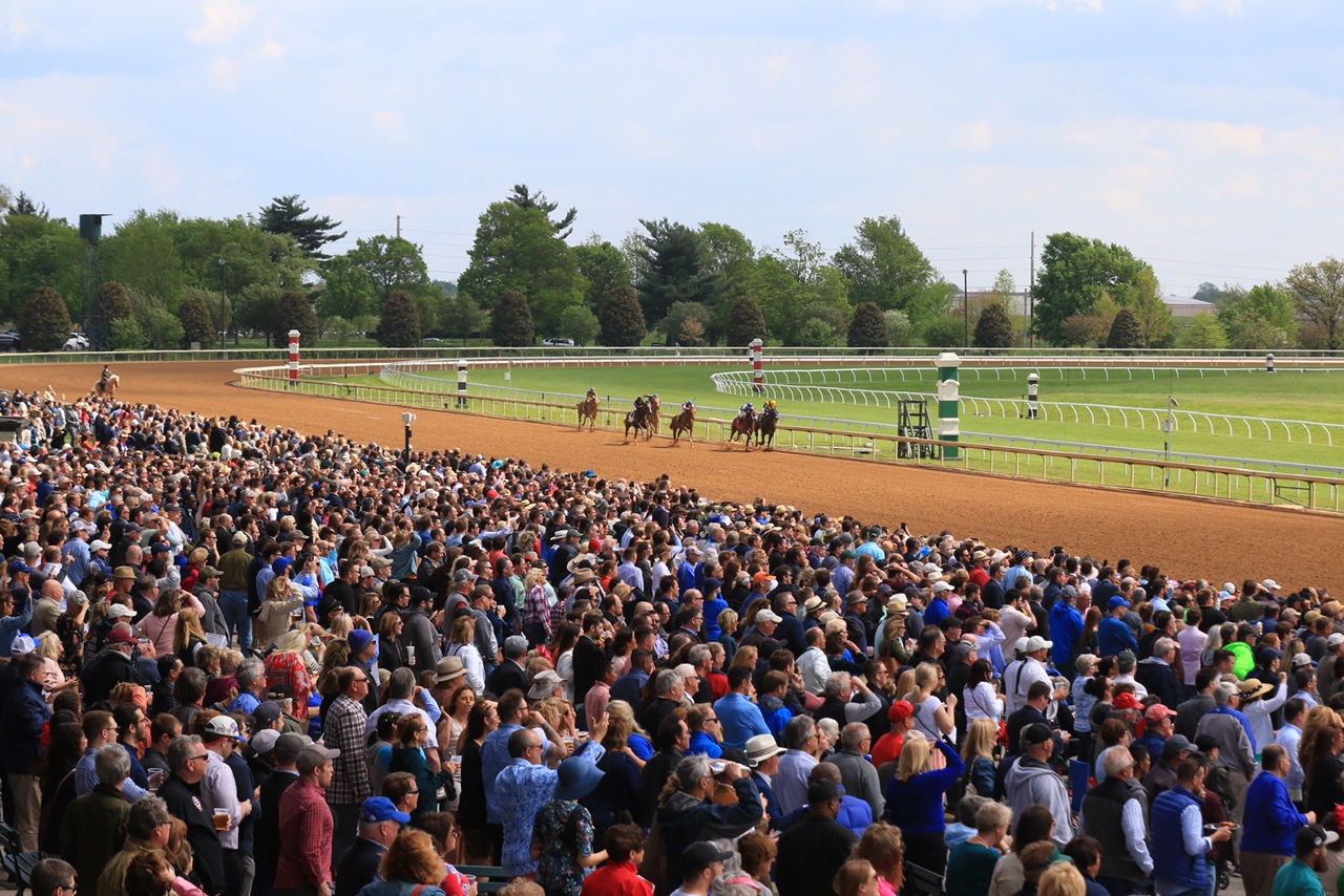 Keeneland racing